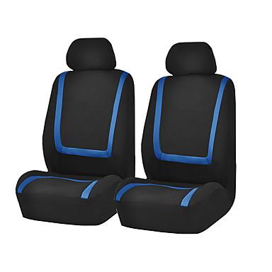 voordelige Auto-interieur accessoires-universele autostoelhoes polyester autostoelhoes stoelbeschermer interieuraccessoires 4 stks