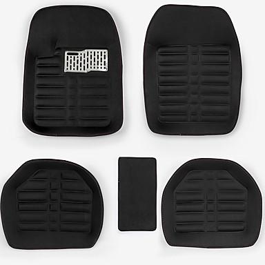 voordelige Auto-interieur accessoires-5 stks universele auto auto vloermatten floorliner voorzijde& mat voor alle weersomstandigheden