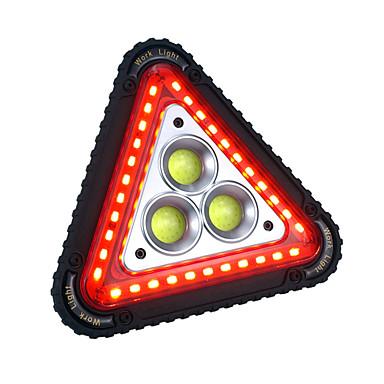 abordables Lampes & Lanternes de Camping-CL-0044 Eclairage LED Eclairage d'Urgence 750-1200 lm LED LED Émetteurs Automatique Mode d'Eclairage avec Pile et Câble USB Portable Coupe-vent Durable Camping / Randonnée / Spéléologie Pêche Blanc