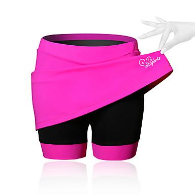 SPAKCT Žene Biciklistička suknja Bicikl Kratke hlače / Haljine / Podstavljene kratke hlače Prozračnost, Pad 3D Jednobojni, Kolaž, Klasika Spandex Crn / Plava / Pink Napredan Brdski biciklizam