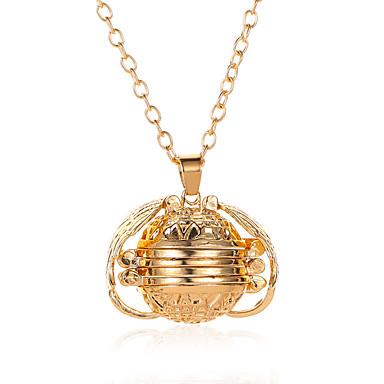 billige Mote Halskjede-Dame Halskjede Chrome Rose Gull Gull Sølv Mørkegrå 68 cm Halskjeder Smykker 1pc Til Engasjement Gave Klubb