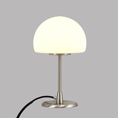 Basit cam masa lambası, modern çağdaş ortam lambaları / dekoratif masa lambası / okuma lambası yatak odası / çalışma odası / ofis