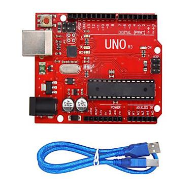 voordelige Elektrische apparatuur & benodigdheden-uno r3 (rood) soldeerbalk