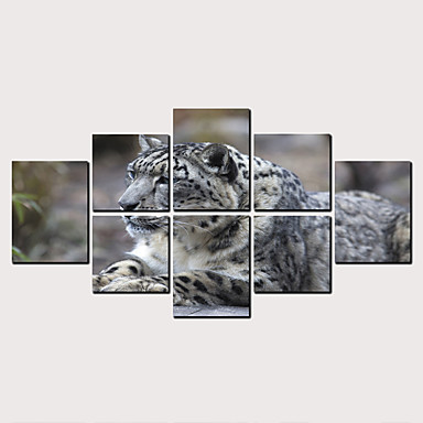 billige Trykk-Trykk Valset lerretskunst - Dyr Klassisk Moderne Kunsttrykk