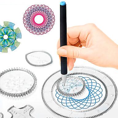voordelige tekening Speeltjes-Tekenspeelgoed Speelgoed tekentablets Verf Handgemaakt PP+ABS ABS + PC Kinderen Allemaal Speeltjes Geschenk 500 pcs