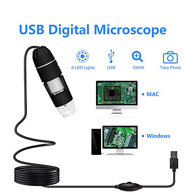 voordelige Microscopen & Endoscopen-usb1000x hd-microscoop hd digitale elektronenmicroscoop