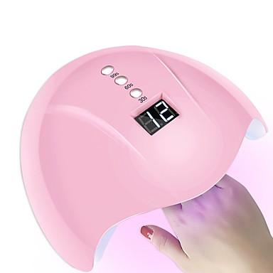 voordelige Nagelgereedschap & Apparatuur-36w slimme sensor nagel droger led / uv lamp met timer lcd-scherm nail art tools voor het genezen van nagellak auto-inductie
