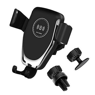 voordelige Automatisch Electronica-10 W Qi Auto Draadloze Oplader Snel Opladen Smart Phone Holder Mount voor iPhone 8 8 Plus XS Samsung S8 S9 S10