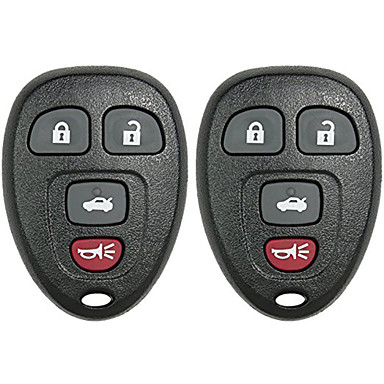 voordelige Automatisch Electronica-keyless entry afstandsbediening autosleutelzakje chevrolet vervanging 22733523 15252034 kobgt04a