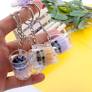 voordelige Dames Sieraden-Sleutelhanger beker Koreaans Modieus Elegant Modieuze ringen Sieraden Wit / Paars / Geel Voor Dagelijks Afspraakje