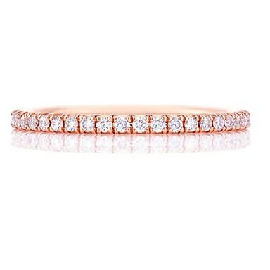 olcso Divatos gyűrű-Női Gyűrű 1db Vörös arany / Ezüst Réz Körkörös Alap / Koreai / Divat Ajándék Jelmez ékszerek