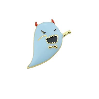 voordelige Dames Sieraden-Dames Broches Monster Statement Stijlvol Uniek ontwerp Punk Broche Sieraden Blauw Voor Halloween Dagelijks Werk Festival