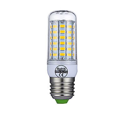 billige Elpærer-1pc 8 W LED-kornpærer 880 lm E26 / E27 T 69 LED perler SMD 5730 Dekorativ Hvit 220-240 V