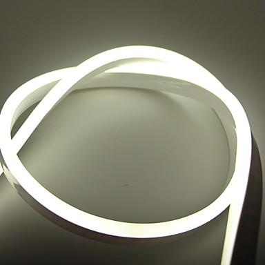 abordables Bandes Lumineuses LED-5m Bandes Lumineuses LED Flexibles 600 LED Blanc / Rouge / Bleu Créatif / Design nouveau / Fond de TV 110 V 1 set