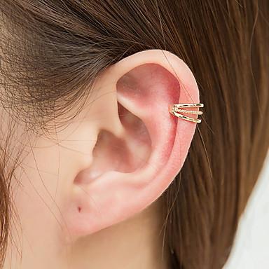 voordelige Dames Sieraden-Dames Clip oorbellen meetkundig Maanfase oorbellen Sieraden Goud / Zilver Voor Feestdagen 1pc