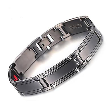 voordelige Herensieraden-Heren Oorbellen / armband Klassiek Lucky Luxe Vintage modieus Gothic Modieus Koper Armband sieraden Zwart Voor Lahja Dagelijks Feestdagen Festival