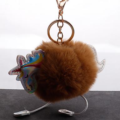 voordelige Dames Sieraden-Sleutelhanger Paard Koreaans Zoet Modieus Modieuze ringen Sieraden Zwart / Bruin / Wijn Voor Dagelijks Afspraakje