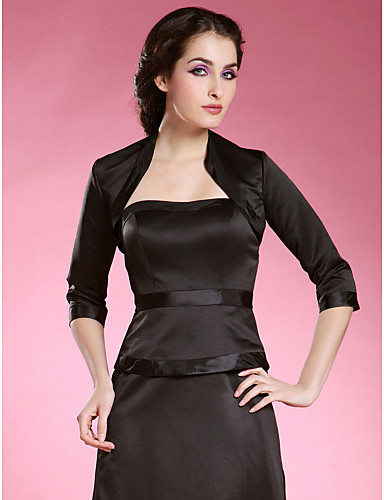 Satin Party/Evening Wedding  Wraps Coats/Jackets Elegant Style