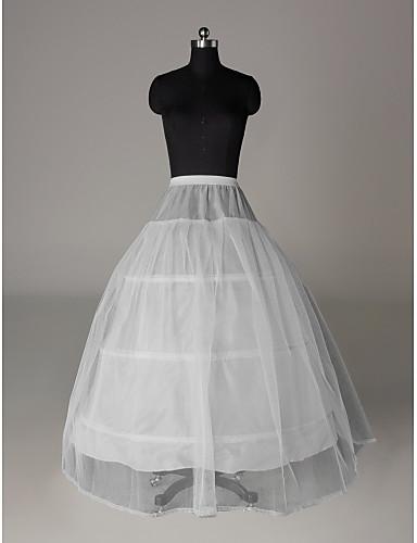 Düğün Özel Anlar Parti / Gece Slipler Naylon Tül Yer-uzunluğunda A-Line Alt Giyimi Klasik & Zamansız ile