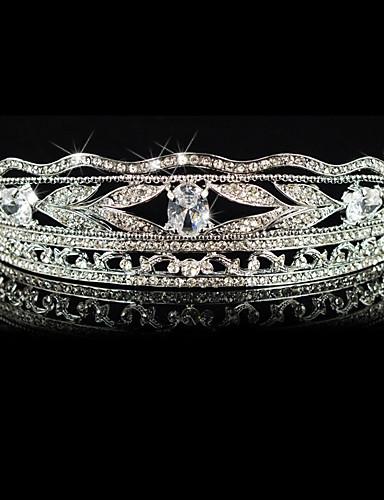 ราคาถูก มงกุฎ-ผู้หญิง โลหะผสม หูฟัง-การแต่งงาน / โอกาสพิเศษ กะบังหน้า