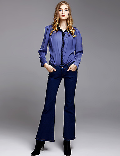 TS Slim Fit Wide Flare Jeans