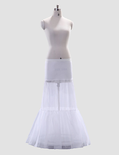 Wedding Special Occasion Slips Polyester Spandex Floor-length A-Line Slip With