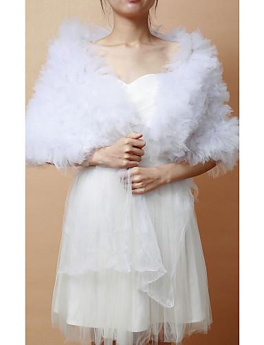 Fără manșon Tulle Nuntă Petrecere / Seară Wraps de nunta Șaluri