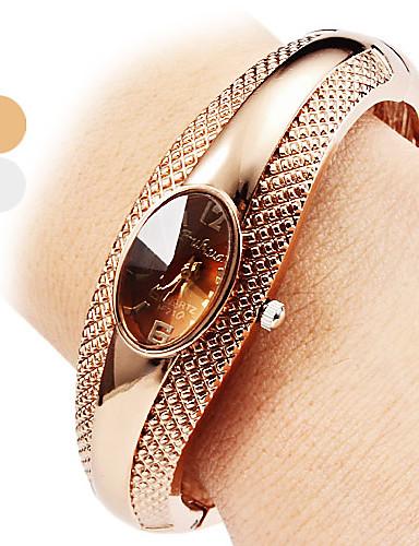 ieftine Ceasuri La Modă-Pentru femei femei Ceas Brățară Quartz Argint / Bronz Ceas Casual Analog Casual Atârnat Modă Elegant - Argintiu Bronz