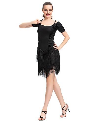 tanssisali dancewear viskoosia Latinalainen tanssi mekko naisille