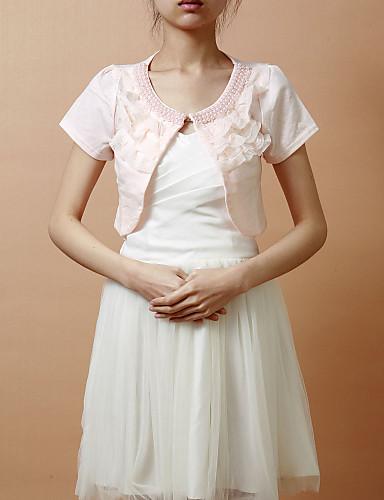 Splendida manica corta di cotone terylene Sera / Casual Wrap / Jacket (più colori)
