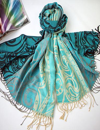 Qing Yu 2013 New Model Floral Print Dobbelt anvendelse silke luft Tørklæde