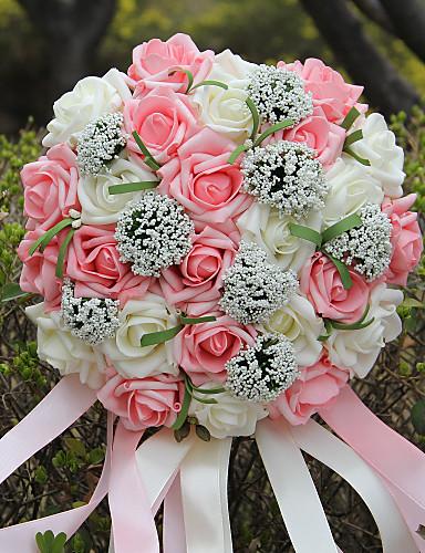 Wedding Flowers Bouquets Wedding Party / Evening Foam 9.84