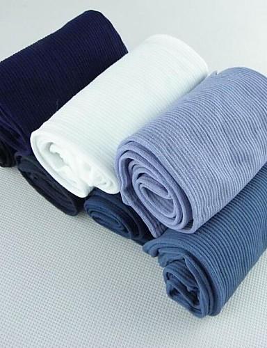voordelige Herenondergoed & Zwemkleding-Polyester Spandex - Heren Dun Medium Effen Wit Zwart Donkerblauw Lichtgrijs