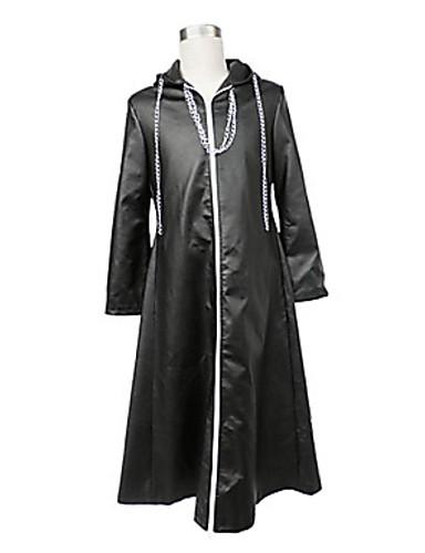 voordelige Gaming kostuums-geinspireerd door Kingdom Hearts Cosplay Video Spel Cosplaykostuums Cosplay Kostuums Effen Mantel kostuums