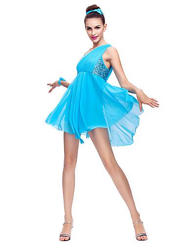 Ballet Jurken Dames Chiffon Pailletten