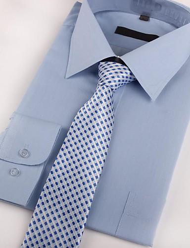 2019 Moda Per Uomo Da Serata - Da Ufficio Cravatta A Quadri #02323612