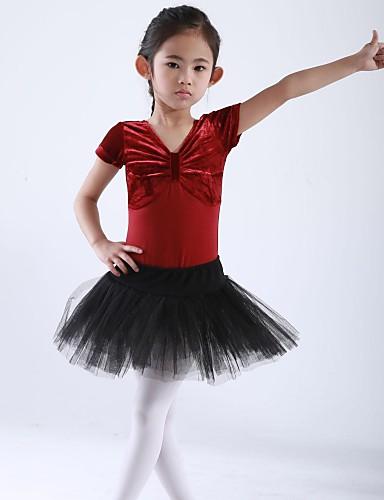 preiswerte Ballettbekleidung-Tanzkleidung für Kinder Balletröckchen Kinder Baumwolle Tüll