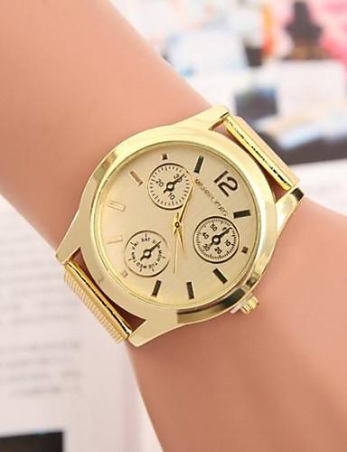 Men's Fashion  Circular Alloy  Quartz Steel Belt Watch Cool Watch Unique Watch