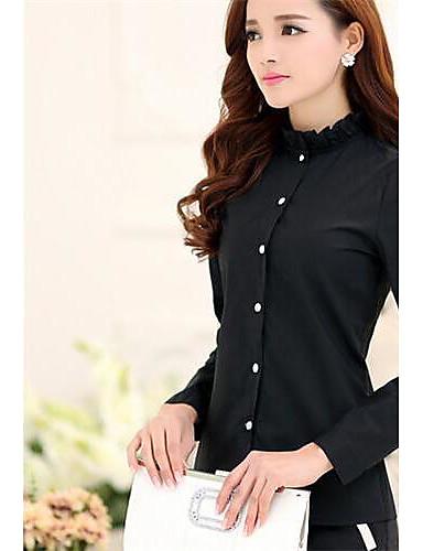 Women's Work Casual Spring / Summer / Fall / Winter Shirt