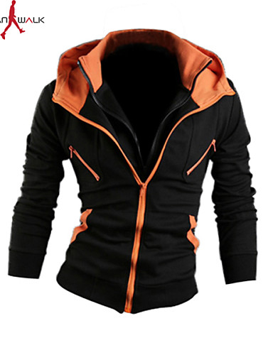 5ce03ecf1f8e Men's Classic & Timeless Long Sleeve Hoodie - Solid Colored Pure Color Gold
