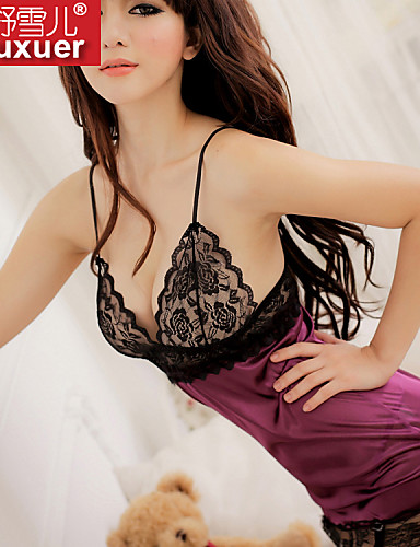 Women's Ultra Sexy Nightwear Polyester Purple
