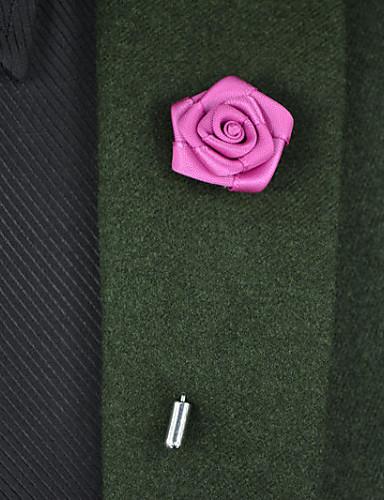 bd3026a5e9 Χαμηλού Κόστους Νυφικά Αξεσουάρ-Λουλούδια Γάμου Μπουτονιέρες Σατέν  Μεταλλικό 8