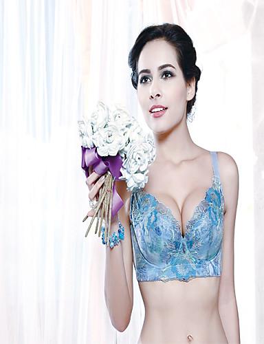 Women's close skin fabrics of high-grade embroidery lace bra