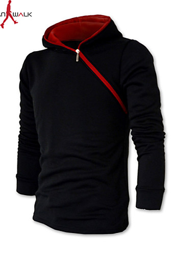 Marchio Popolare Per Uomo Classico Pantaloni - Tinta Unita Tinta Unita Rosso - Manica Lunga #02281457
