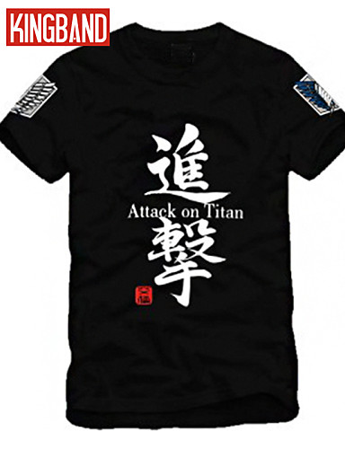 Men's Sports Plus Size Cotton T-shirt Print