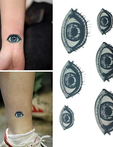 220895437 1 pcs προσωρινή Τατουάζ Αδιάβροχη / Non Toxic / Halloween Χαρτί Αυτοκόλλητα  Τατουάζ / Χαμηλά στην Πλάτη / Waterproof