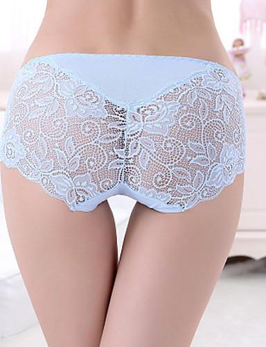 Women's Jacquard Ultra Sexy Panties Shaping Panties Cotton Modal