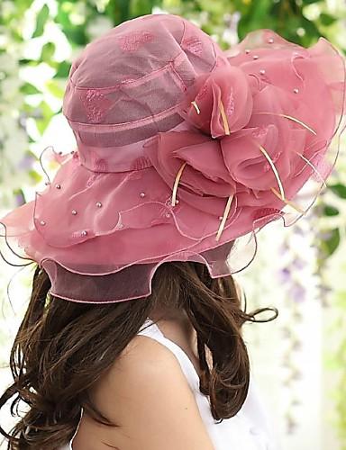 Women's Mesh Canvas Sun Hat,Vintage Summer Gray Pink Dark Pink Khaki Lavender