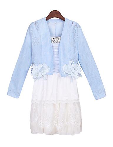 Günlük V-Yaka - Uzun Kol KADIN - Takım Elbiseler ( Polyester )