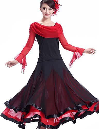 248f4c735 Ballroom Dance Dresses Women's Performance Crepe / Milk Fiber Draping Dress  / Modern Dance
